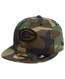 New Era Green Bay Packers Woodland Prism Pack 59FIFTY-FITTED Cap