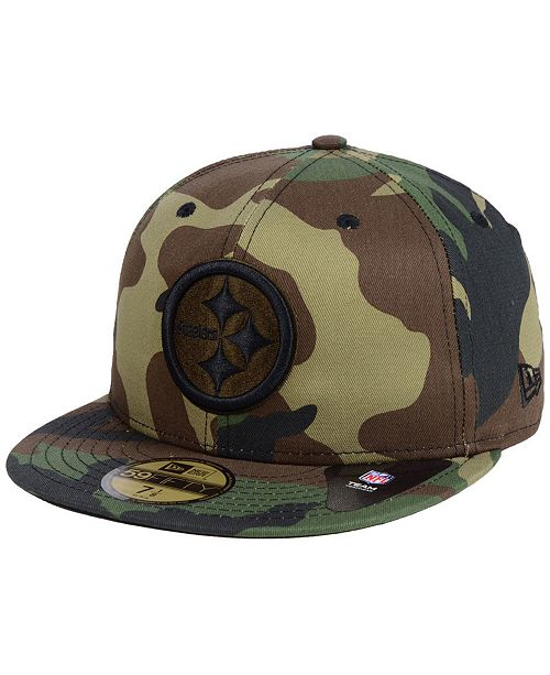 a47766d9c ... New Era Pittsburgh Steelers Woodland Prism Pack 59FIFTY-FITTED Cap ...