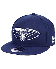 New Era New Orleans Pelicans Logo Trace 9FIFTY Snapback Cap