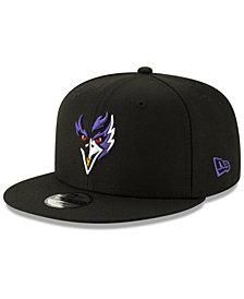 New Era Boys' Baltimore Ravens Logo Elements Collection 9FIFTY Snapback Cap