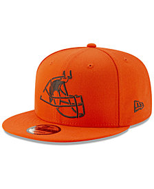 New Era Boys' Cleveland Browns Logo Elements Collection 9FIFTY Snapback Cap