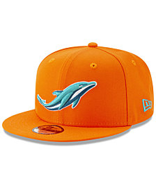 New Era Boys' Miami Dolphins Logo Elements Collection 9FIFTY Snapback Cap