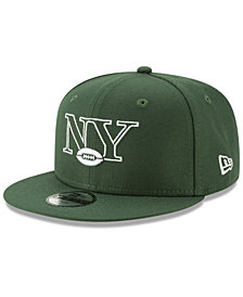 New Era Boys' New York Jets Logo Elements Collection 9FIFTY Snapback Cap