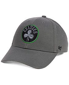 '47 Brand Boston Celtics Charcoal Pop MVP Cap
