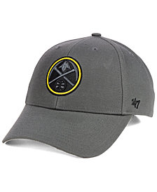 '47 Brand Denver Nuggets Charcoal Pop MVP Cap