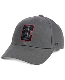 '47 Brand Los Angeles Clippers Charcoal Pop MVP Cap