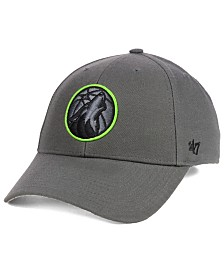 '47 Brand Minnesota Timberwolves Charcoal Pop MVP Cap