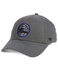 '47 Brand Philadelphia 76ers Charcoal Pop MVP Cap