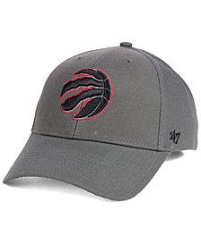 '47 Brand Toronto Raptors Charcoal Pop MVP Cap