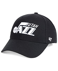 Utah Jazz Black White MVP Cap