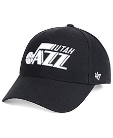 '47 Brand Utah Jazz Black White MVP Cap