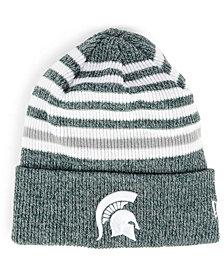 New Era Michigan State Spartans Striped Chill Knit Hat