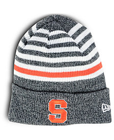 New Era Syracuse Orange Striped Chill Knit Hat