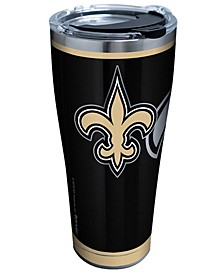 New Orleans Saints 30oz Rush Stainless Steel Tumbler