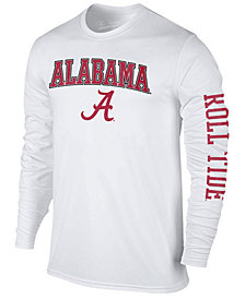 Colosseum Men's Alabama Crimson Tide Midsize Slogan Long Sleeve T-Shirt