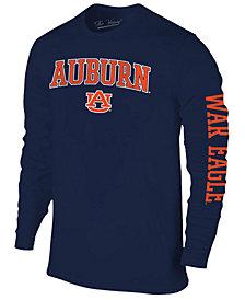 Colosseum Men's Auburn Tigers Midsize Slogan Long Sleeve T-Shirt