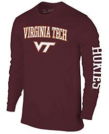 Colosseum Men's Virginia Tech Hokies Midsize Slogan Long Sleeve T-Shirt