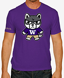 Retro Brand Men's Washington Huskies Tokyodachi T-Shirt
