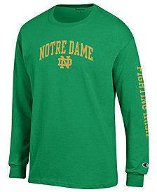 Colosseum Men's Notre Dame Fighting Irish Midsize Slogan Long Sleeve T-Shirt