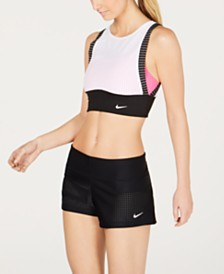 Nike Sport Mesh Layered Midkini & Board Shorts