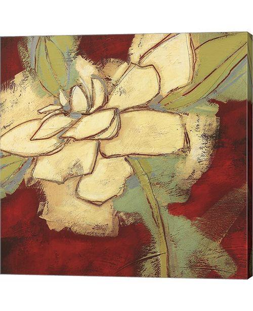 Metaverse Jungle Gardenia II by Susan Davies Canvas Art