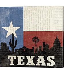 Texas by Moira Hershey Canvas Art