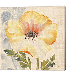 Watercolor Poppies II by Pamela Gladding Canvas Art