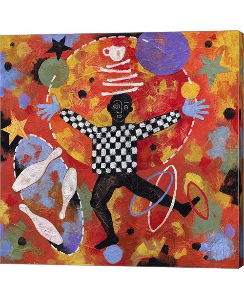 Metaverse Juggler by Jim Dryden Canvas Art