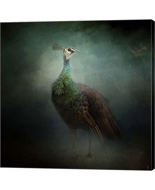 Metaverse Peacock 2 by Jai Johnson Canvas Art