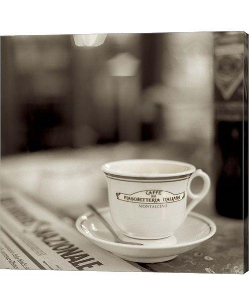 Metaverse Tuscany Caffe II by Alan Blaustein Canvas Art