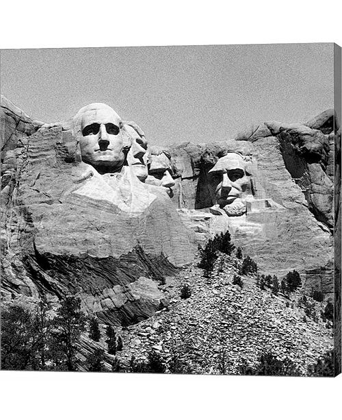 Metaverse Mt. Rushmore Plate #3 by Harold Silverman Canvas Art
