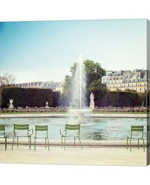 Metaverse Paris Moments V by Laura Marshall Canvas Art