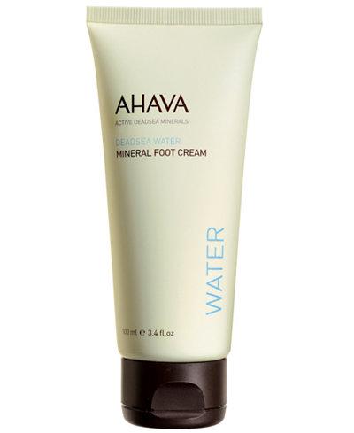 Ahava Mineral Foot Cream, 3.4 oz