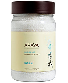 Ahava Mineral Bath Salt Natural, 32 oz