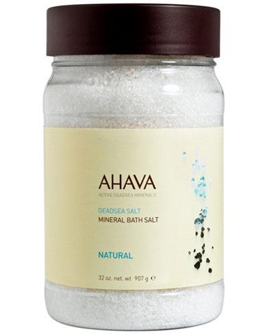 Ahava Mineral Bath Salt Natural, 32 oz