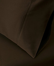 Superior 530 Thread Count Premium Combed Cotton Solid Pillowcase Set - King - White