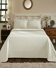 Superior Fleur De Lis 100% Cotton Bedspread - King