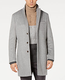 Tasso Elba Men's Bruno Wool Topcoat, Created for Macy's