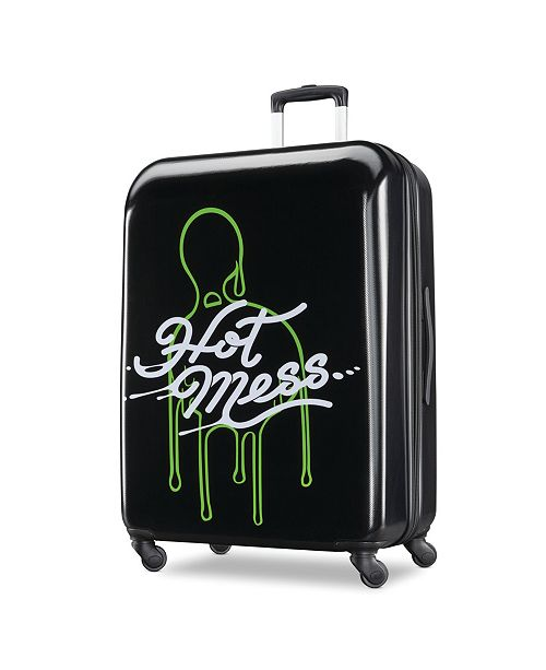 """American Tourister Disney Slime 28"""" Spinner Suitcase by American Tourister"""