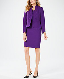 Kasper Peplum Blazer & Sheath Dress