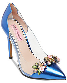 Betsey Johnson Jane Lucite Pumps