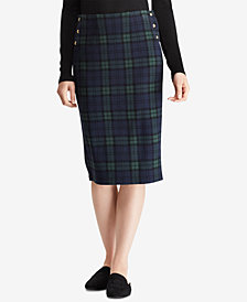 Lauren Ralph Lauren Plaid Jacquard Shirt