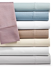 Sleep Luxe 700 Thread Count, 4-PC Solid and Pattern Extra Deep Sheet Set, 100% Egyptian Cotton, Created for Macy's