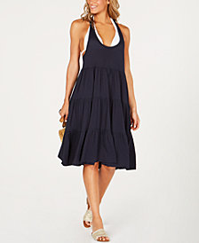 Tommy Hilfiger Tiered Racerback Cover-Up