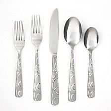 Conquest Sand 30-Piece Flatware Set, Service for 6