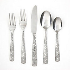 Cambridge Conquest Sand 30-Piece Flatware Set