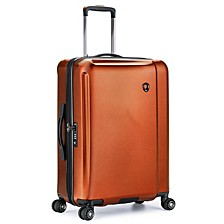 """Halow 25"""" Polycarbonate Spinner Suitcase"""