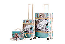 """Triforce Versailles 3pc Set 12""""22""""30"""" Spinner Luggage"""