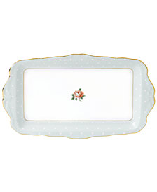 Royal Albert Old Country Roses Polka Rose Sandwich Tray