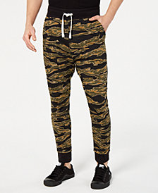 G-Star RAW Men's Camo Sweatpants, Created for Macy's
